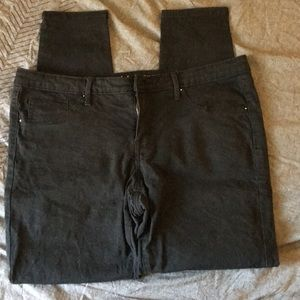 Mossimo black size 14 jeggings
